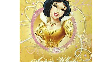 Sešit Princess Sešit A4 čtverečky 80 stránek žlutá