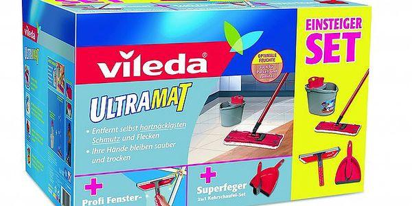 UltraMat Box+stěrka na okna+smetáček s lopatkou SET