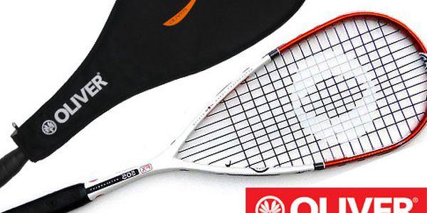 Squashová raketa Oliver + obal a míček
