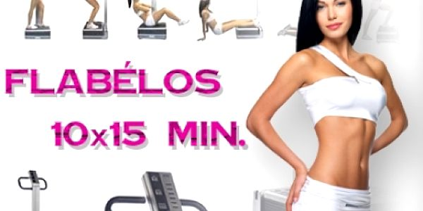 10x15 minut PERMANENTKA na vibrační plošinu FLÁBELOS! 15 min. cvičení Flabélos = 1 hod. tréninku v posilovně! Profesionální centrum Prolinebody v centru Brna!