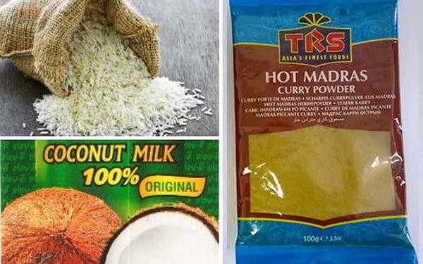 Jasmínová, Basmati ryža,kokosové mlieko