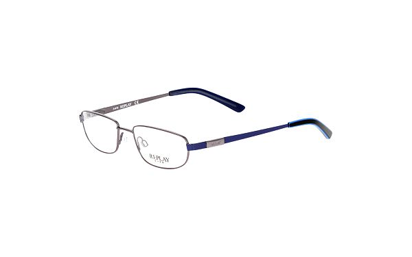 Pánské kovové brýle s modrými stranicemi Replay