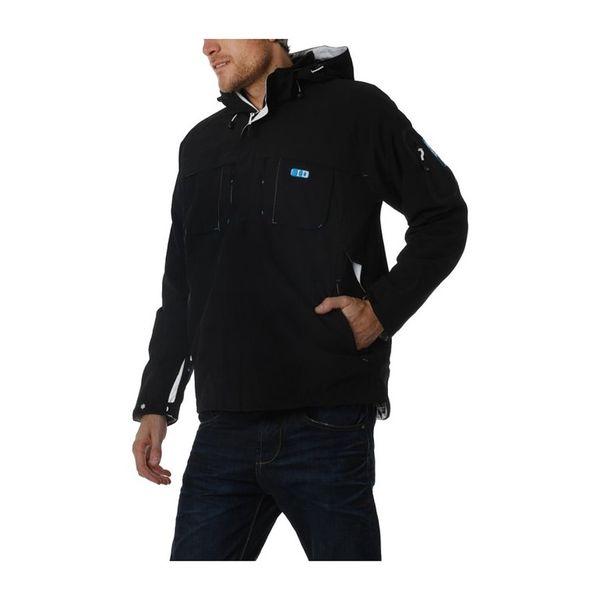 Pánská bunda Geographical Norway černá s kapucí