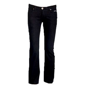 Dámské černé boot-cut džíny Ruby London