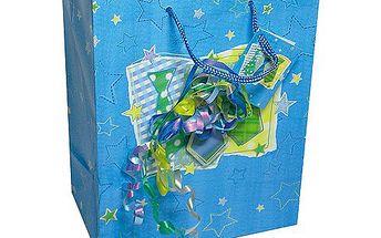 Dárkové tašky Dárková taška kravaty a konfety 264x327 mm
