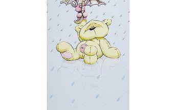 Blahopřání Fizzy Moon Fizzy s deštníkem