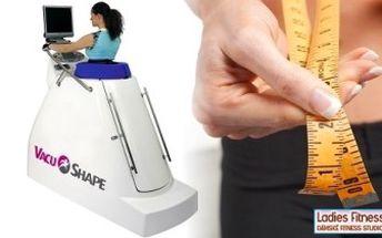 PERMANENTKA na 10 x 30 minut VacuShape + 10 minut zahřátí na vibrační plošině nebo rotopedu a nápoj.