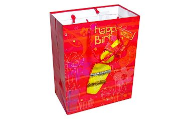 Dárkové tašky Dárková taška 3D svíčka 180x227 mm