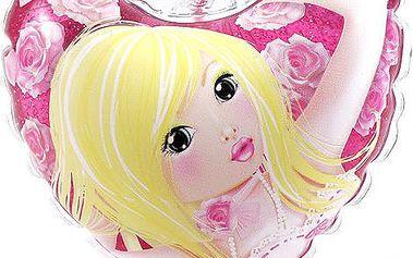 Sprchový gel Top Model srdce růžová 200ml
