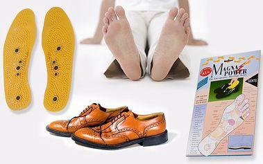 Magnetické vložky do topánok len za 2,99 € vrátane poštovného