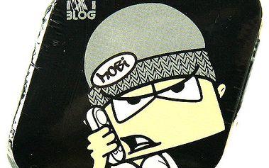 Kouzelný ručník TxtBlog Kouzelný ručník MOBI černo-šedá
