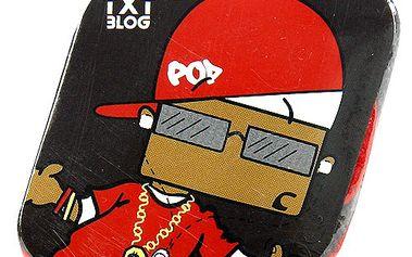 Kouzelný ručník TxtBlog Kouzelný ručník POD černo-červená