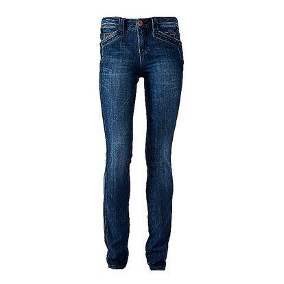 Dámské modré skinny džíny Ruby London