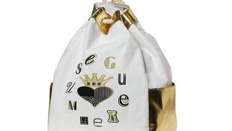 Zlatý batůžek od Italian Fashion