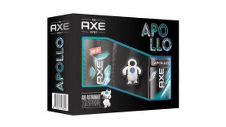 Vánoční balíček Axe Apollo deo sprej 150 ml, sprchový gel 250 ml a USB Astronaut 2 GB.