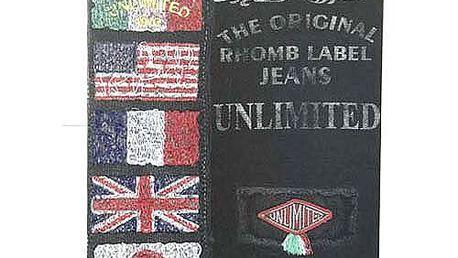 Sešit Unlimited Sešit A4 čtverečky 80 stránek basic černá