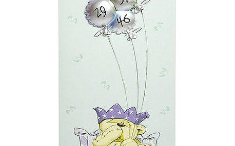 Blahopřání Fizzy Moon Fizzy a balónky 29, 37, 46