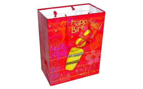 Dárkové tašky Dárková taška 3D svíčka 264x327 mm