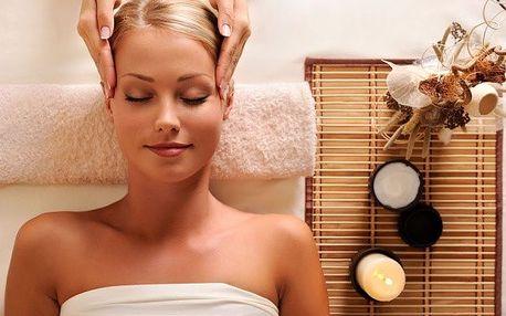 60 min. uvolnění - indická masáž hlavy a další
