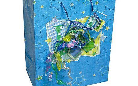 Dárkové tašky Dárková taška kravaty a konfety 180x227 mm