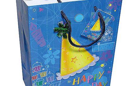 Dárkové tašky Dárková taška 3D čepička 180x227 mm