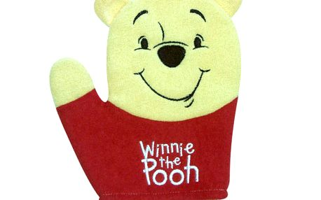 Mycí rukavice Medvídek Pú, 18 cm a mytí bude zábava