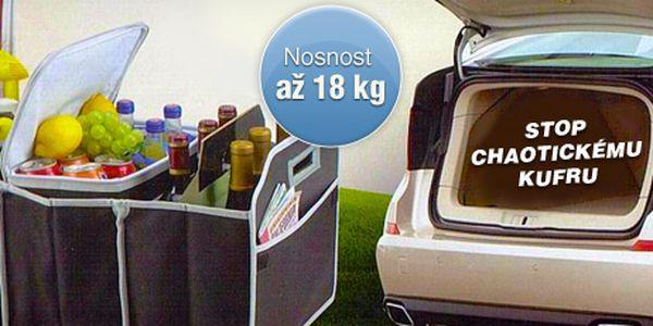 Organizér do kufru vašeho auta včetně praktické termotašky jen za 199 Kč!
