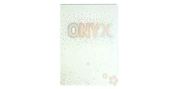 Sešit Onyx Sešit A5 čtverečky 80 stránek bílá