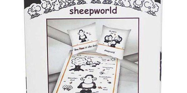 Povlečení Sheepworld Povlečení Mama (135x200cm a 80x80cm), Sheepworld