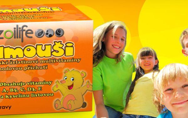 Gumouši: vyvážený mix vitamínů pro vaše děti v podobě želatinových medvídků