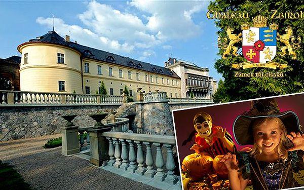Halloweenský pobyt pro 2 v luxusním Chateau hotelu Zbiroh