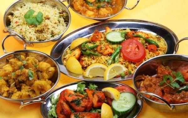 INDIAN JEWEL - nejlepší indická restaurace v ČR! Jídla dle vašeho výběru s 55% slevou ve špičkové pravé indické restauraci! Tradice, chuť a kvalita!!! Objevte svět voňavých tajemství v centru Prahy 1 u Staroměstského náměstí!!!