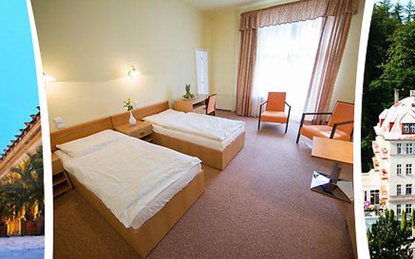4 dny odpočinku pro dva v lázních MÁNES Karlovy Vary s balíčkem lázeňských procedur