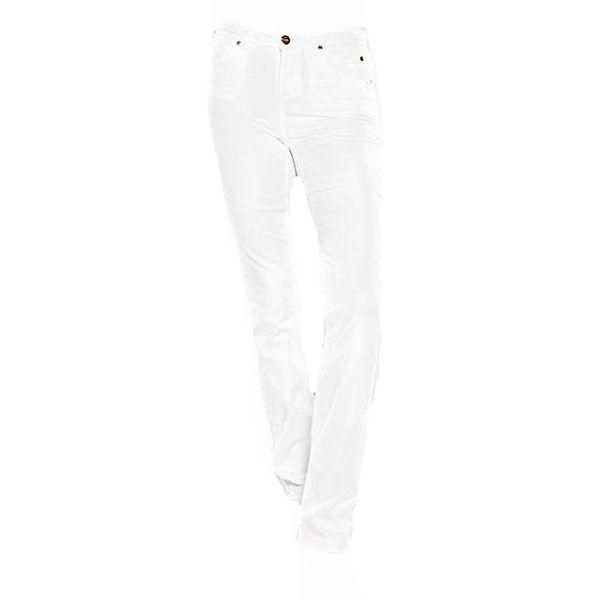 Dámské straight-leg bílé džíny Ruby London