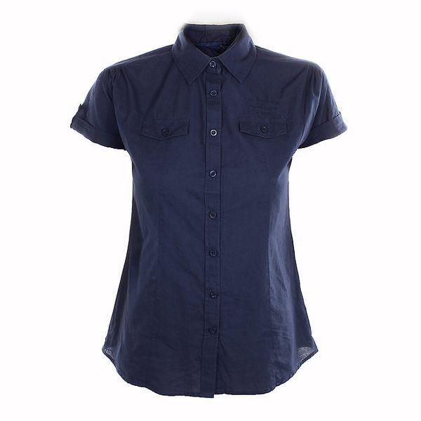 Dámská tmavě modrá košile Exe Jeans