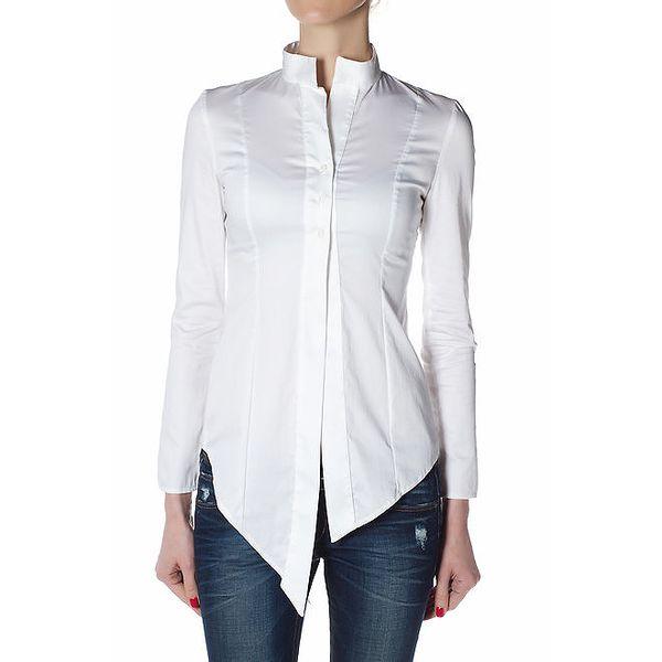 Dámská bílá košile Gene se šosy