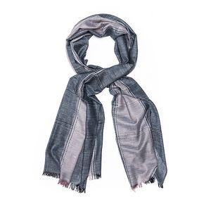 Dámský dvojbarevný šál Bella Rosa v odstínech šedé