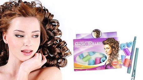Magické nátačky - krásne a vlnité vlasy rýchlo a jednoducho