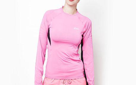 Dámské růžové sportovní triko Asics