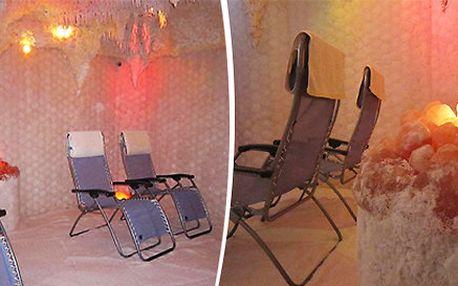 Zdravý relax v solné jeskyni Relax Herink - 3 varianty vstupného