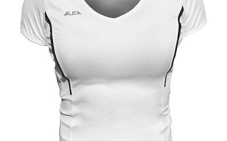 Dámské bílé tričko s krátkými rukávy ALEA