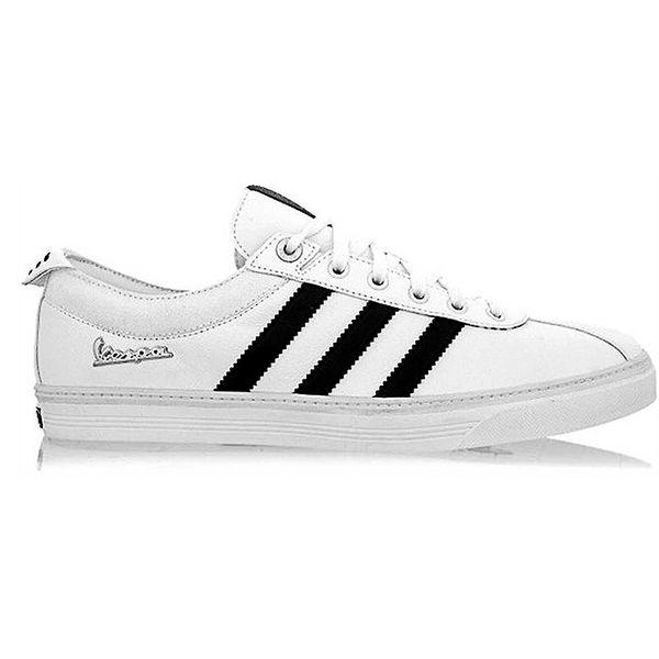 Pánské bílo-černé tenisky Adidas