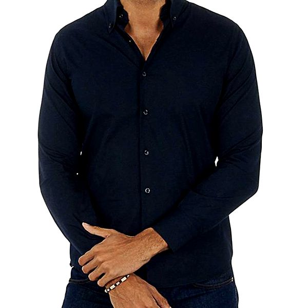 Pánská tmavě modrá košile Lotto