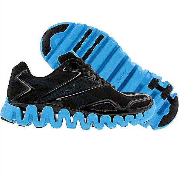 Pánské černo-modré běžecké boty Reebok
