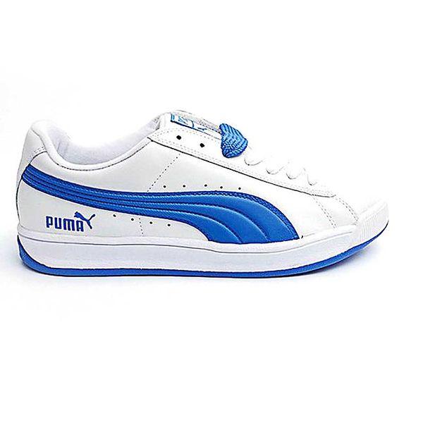Pánské bílo-modré boty Puma