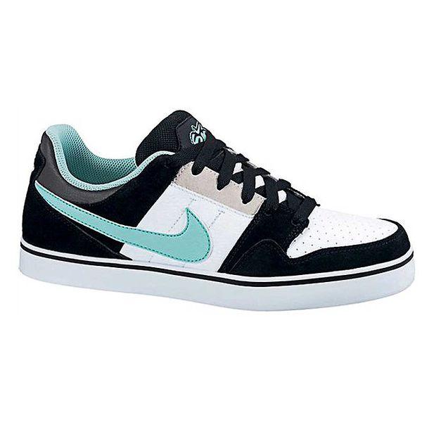Pánské černo-bílo-mátové tenisky Nike