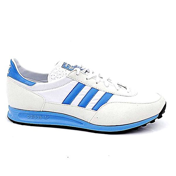Pánské bílo-modré tenisky Adidas
