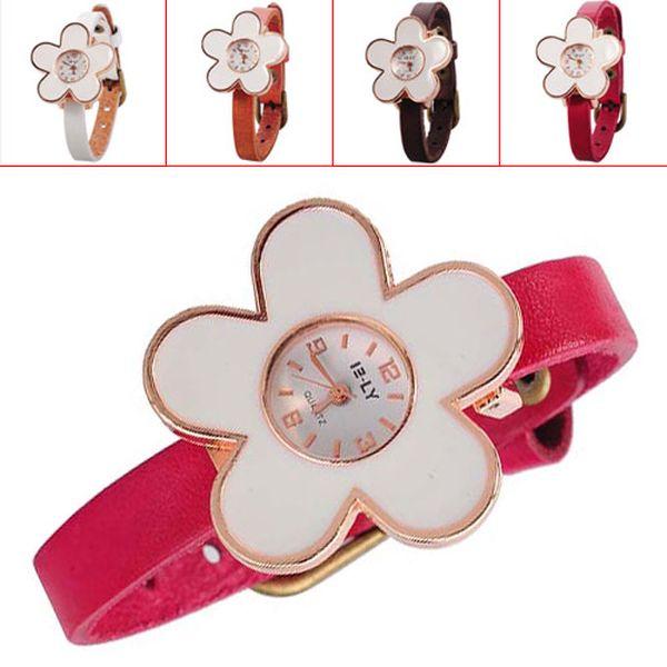 Dívčí hodinky ve tvaru květiny - 4 barvy a poštovné ZDARMA! - 31304254