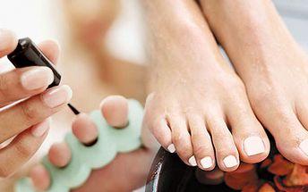 Třeboň! Pečujte o své nohy se slevou 57%! Dopřejte jim klasickou pedikúru, peeling + 10 ti min. uvolňující masáž! Hodinová procedura za neuvěřitelných 149 Kč!