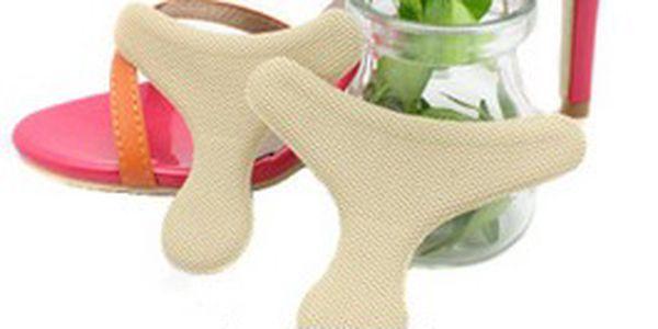 Silikonové vložky do bot